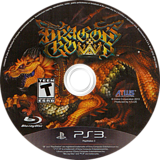 Dragon's Crown PS3 disc (BLUS30767)