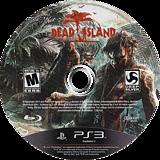 Dead Island PS3 disc (BLUS30790)