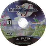 Tales of Graces F PS3 disc (BLUS30903)