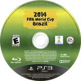 2014 FIFA World Cup Brazil PS3 disc (BLUS31389)