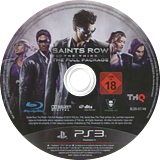 Saints Row : The Third The Full Package PS3 disc (BLES01748)