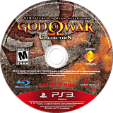 God of War Collection PS3 disc (BCUS98229)