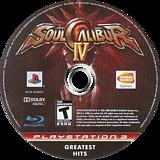 Soul Calibur IV PS3 disc (BLUS30160)