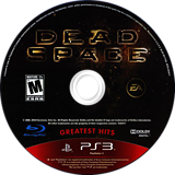 Dead Space PS3 disc (BLUS30177)