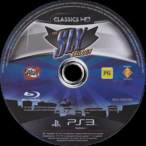 The Sly Trilogy PS3 discM (BCES00968)
