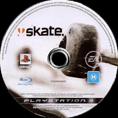 Skate PS3 discM (BLES00124)