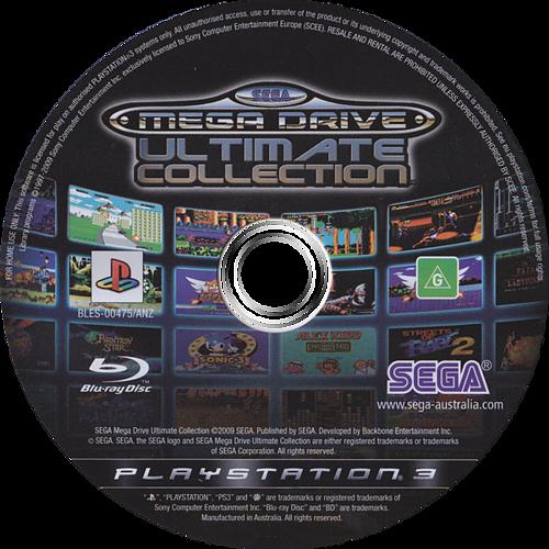 Sega Mega Drive: Ultimate Collection PS3 discM (BLES00475)