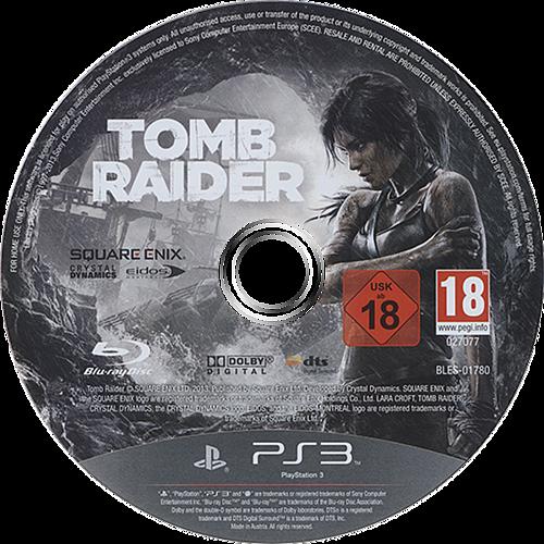 Tomb Raider PS3 discM (BLES01780)