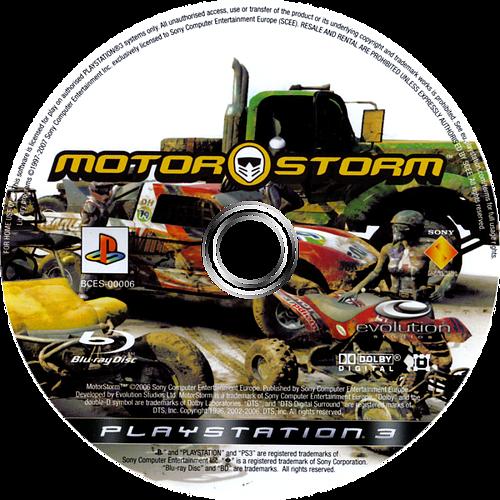 MotorStorm PS3 discM (BCES00006)