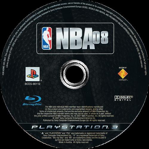 NBA 08 PS3 discM (BCES00112)