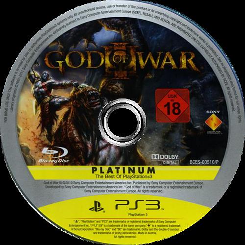 God of War III PS3 discM (BCES00510)