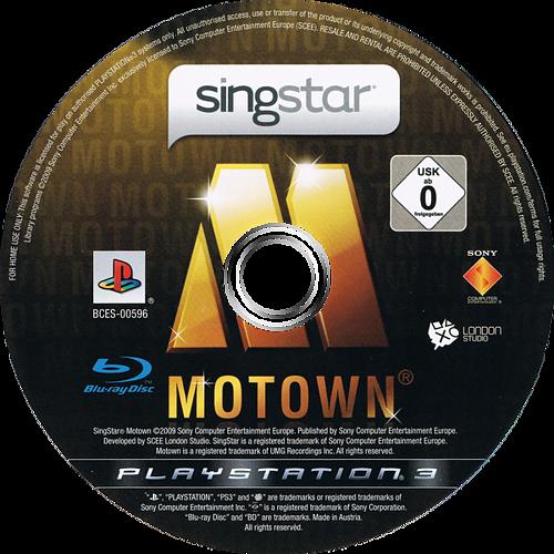 SingStar Motown PS3 discM (BCES00596)
