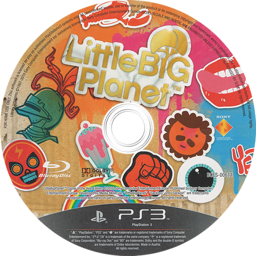 LittleBigPlanet (Game of the Year Edition) PS3 discM (BCES00611)