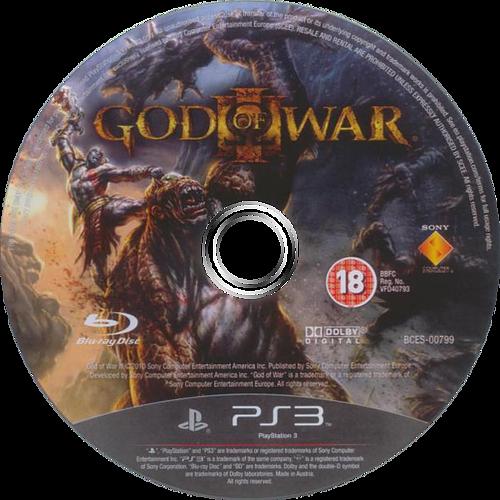 God of War III PS3 discM (BCES00799)