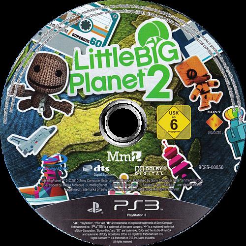 LittleBigPlanet 2 PS3 discM (BCES00850)