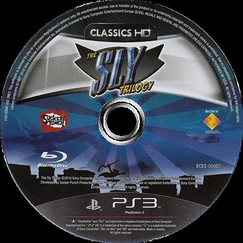 The Sly Trilogy PS3 discM (BCES00982)