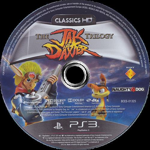 Jak & Daxter The Trilogy PS3 discM (BCES01325)
