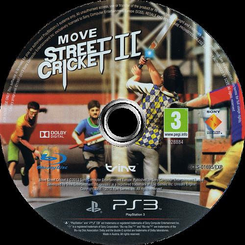 Move Street Cricket II PS3 discM (BCES01695)