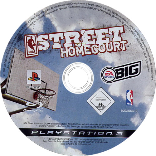 NBA Street Homecourt PS3 discM (BLES00038)