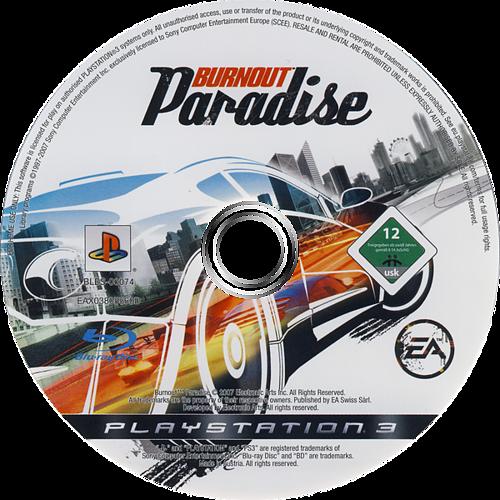 Burnout Paradise PS3 discM (BLES00074)