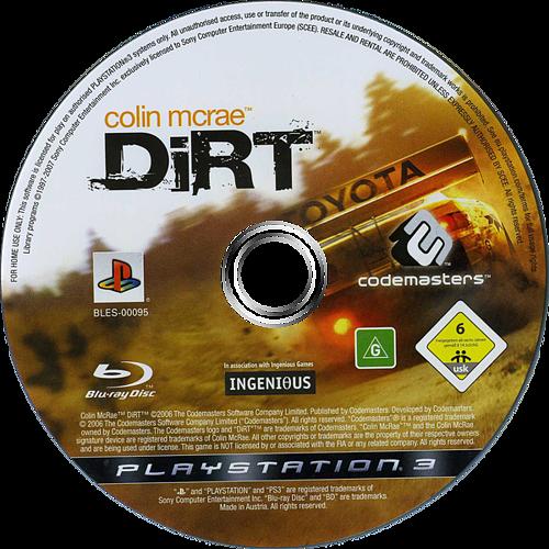 Colin McRae:DiRT PS3 discM (BLES00095)