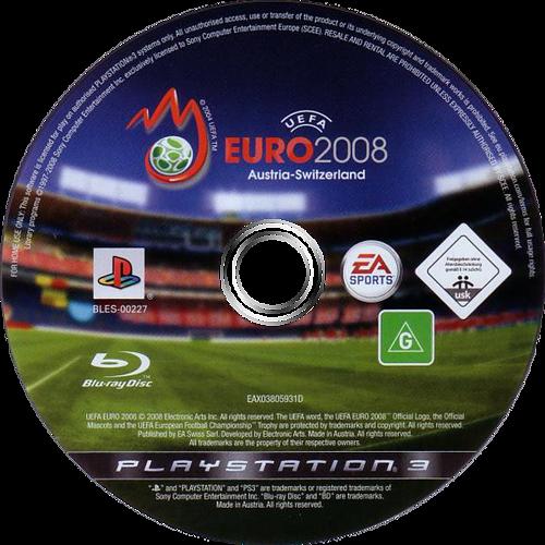 UEFA Euro 2008 PS3 discM (BLES00227)