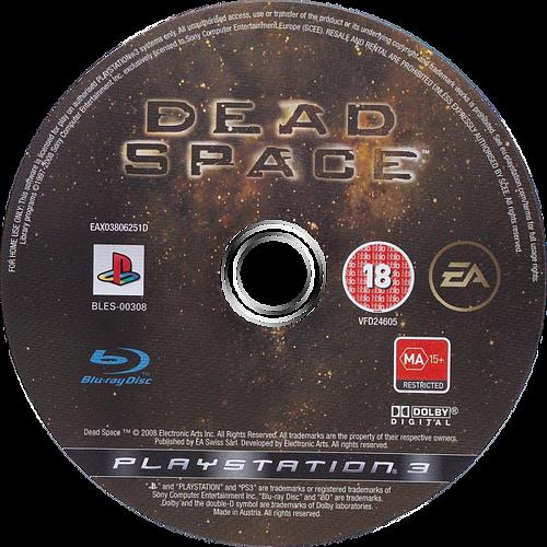 Dead Space PS3 discM (BLES00308)