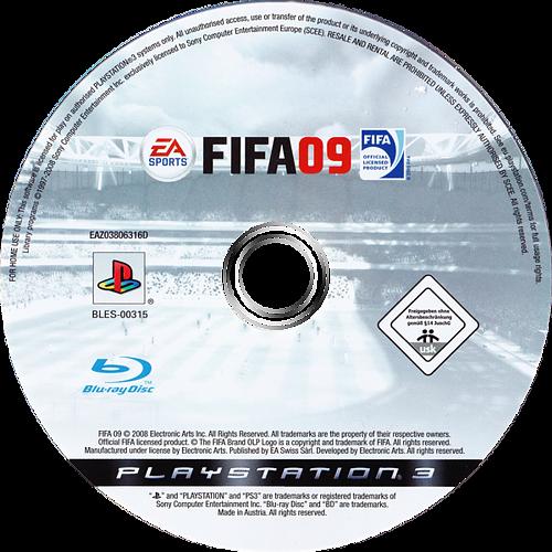 FIFA 09 PS3 discM (BLES00315)