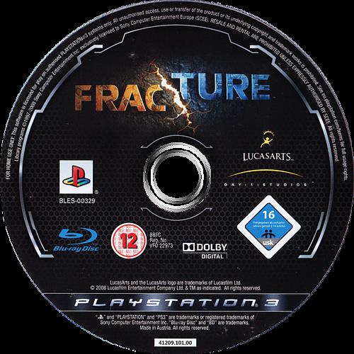 Fracture PS3 discM (BLES00329)