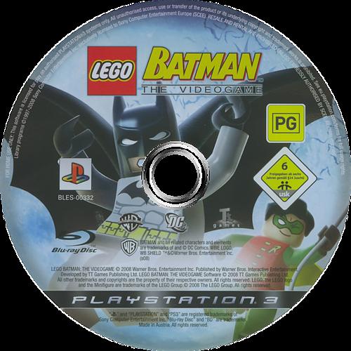 LEGO Batman: The Videogame PS3 discM (BLES00332)