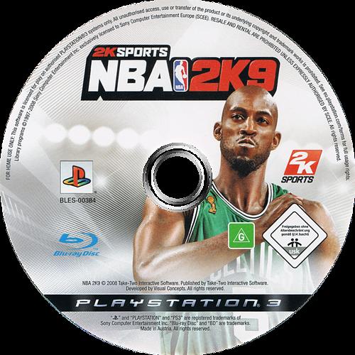 NBA 2K9 PS3 discM (BLES00384)