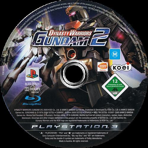 Dynasty Warriors: Gundam 2 PS3 discM (BLES00528)