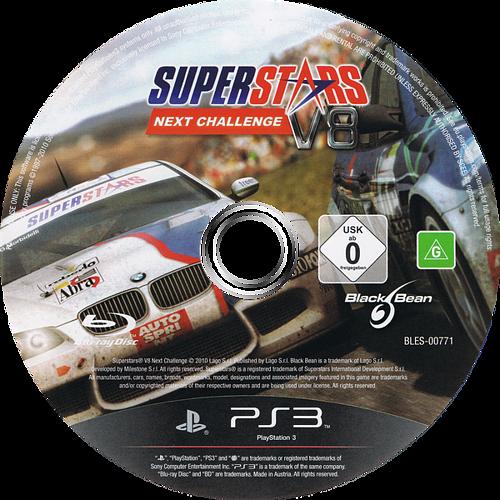 Superstars V8 Next Challenge PS3 discM (BLES00771)