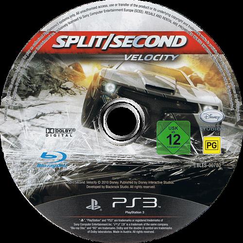 Spit/Second: Velocity PS3 discM (BLES00780)