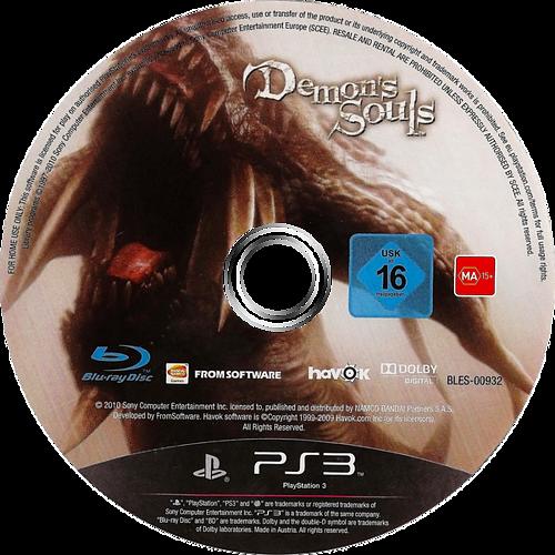 Demon's Souls PS3 discM (BLES00932)
