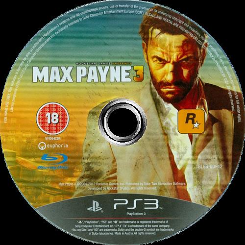 Max Payne 3 PS3 discM (BLES00942)