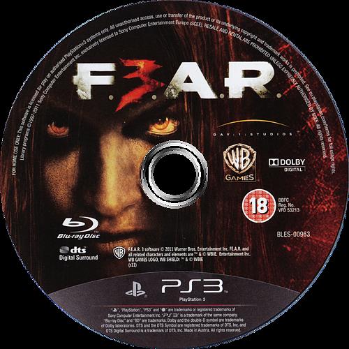 F.E.A.R. 3 PS3 discM (BLES00963)
