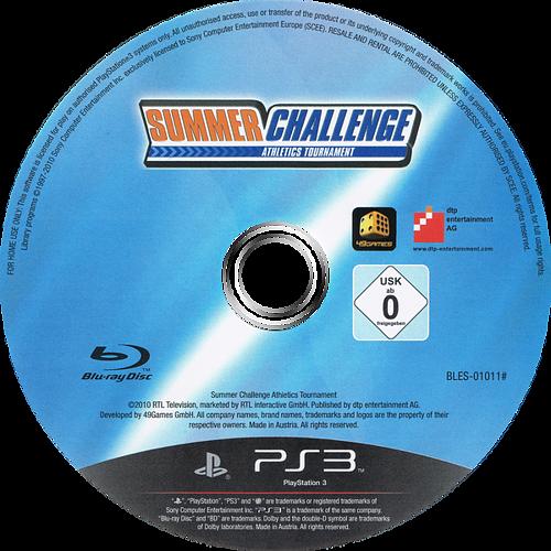 Summer Challenge: Athletics Tournament PS3 discM (BLES01011)