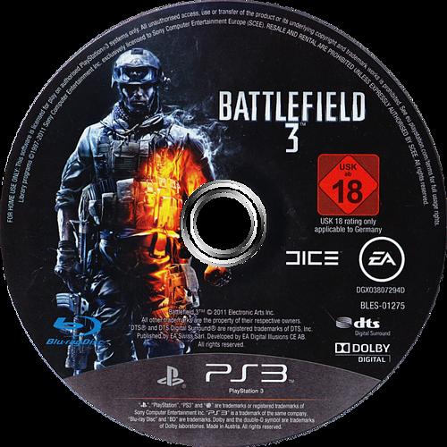Battlefield 3 PS3 discM (BLES01275)