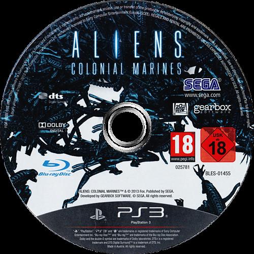 Aliens: Colonial Marines PS3 discM (BLES01455)