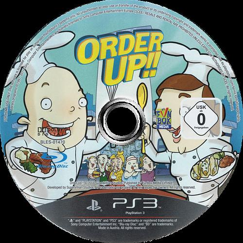 Order Up!! PS3 discM (BLES01470)