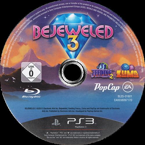Bejeweled 3 PS3 discM (BLES01601)