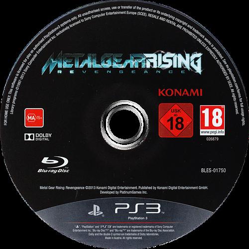 Metal Gear Rising: Revengeance PS3 discM (BLES01750)