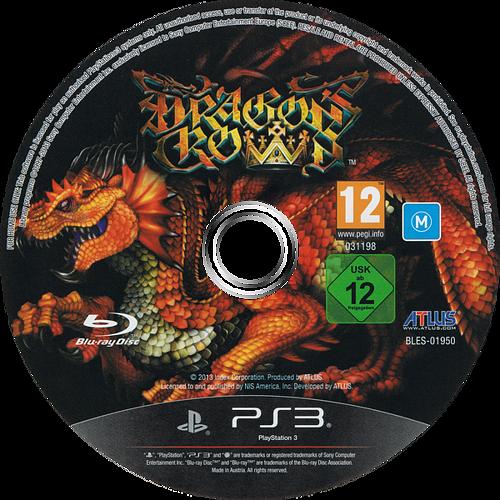 Dragon's Crown PS3 discM (BLES01950)
