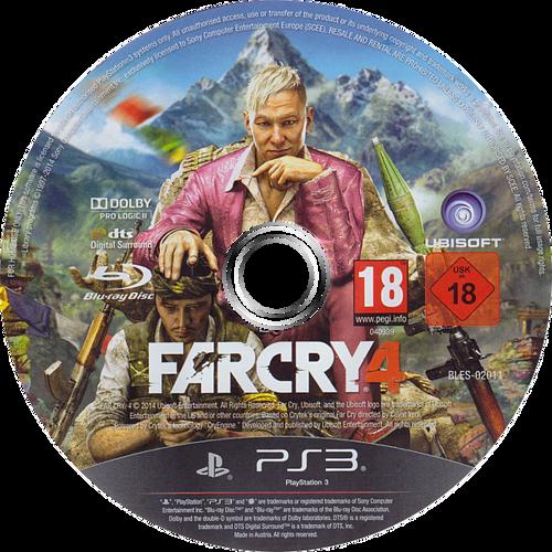 Far Cry 4 PS3 discM (BLES02011)