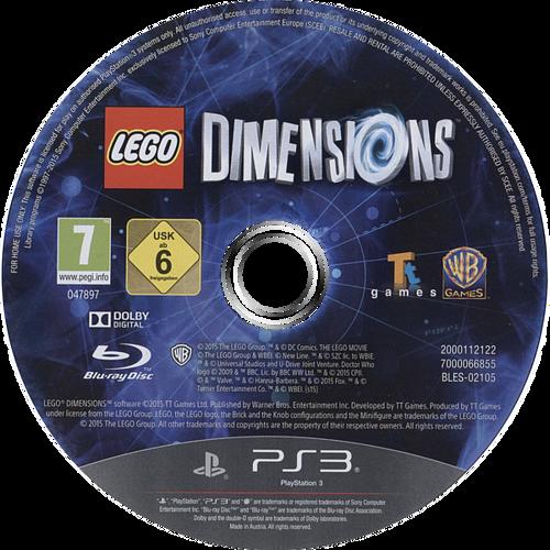 Lego Dimensions PS3 discM (BLES02105)