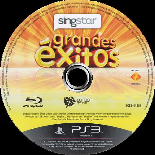 SingStar Grandes Éxitos PS3 discM (BCES01258)
