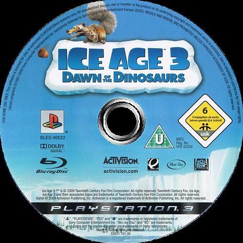 Ice Age 3: El Origen De Los Dinosaurios PS3 discM (BLES00522)