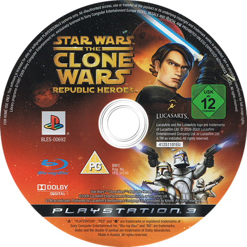 PS3 discM (BLES00692)