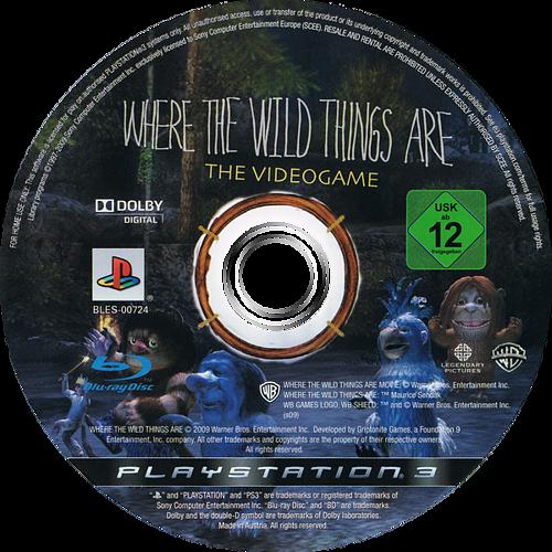 Donde viven los Monstruos PS3 discM (BLES00724)